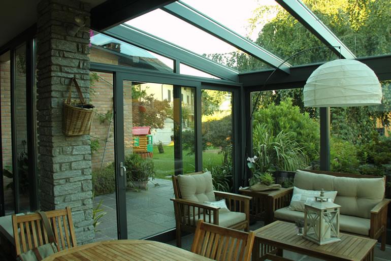 Verande bassetti serramenti for Disegni veranda anteriore